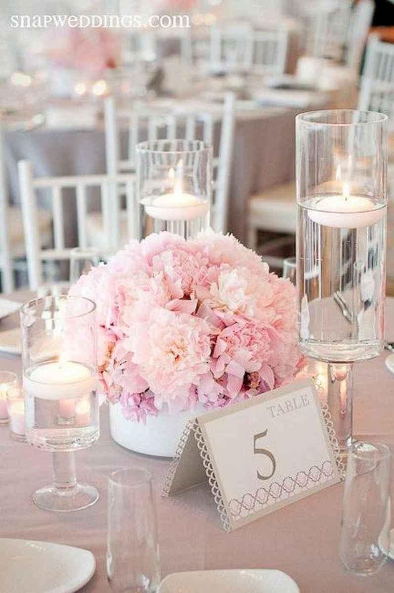 47 Romantic White Flower Centerpiece Decor Ideas