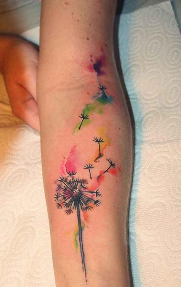 51 Most Beautiful Watercolor Tattoos Art Ideas