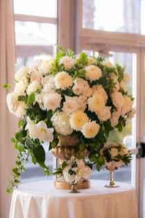 58 Romantic White Flower Centerpiece Decor Ideas
