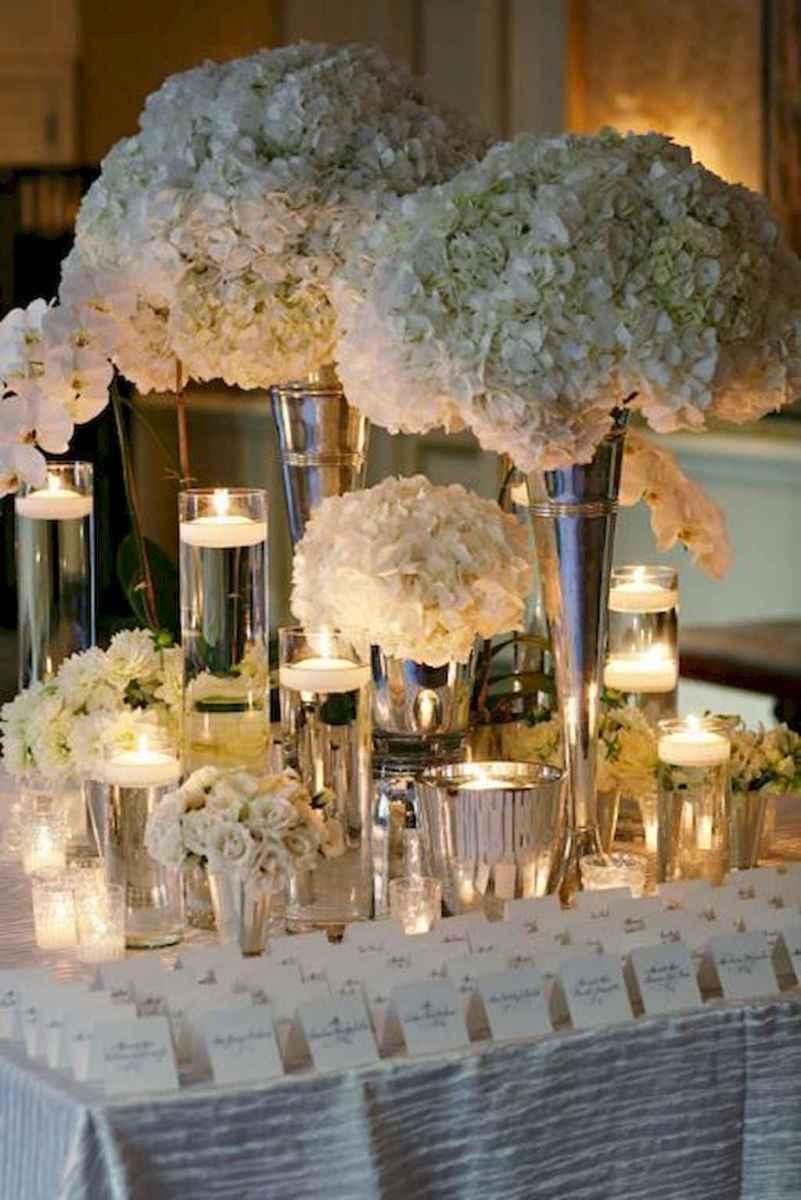 60 Romantic White Flower Centerpiece Decor Ideas