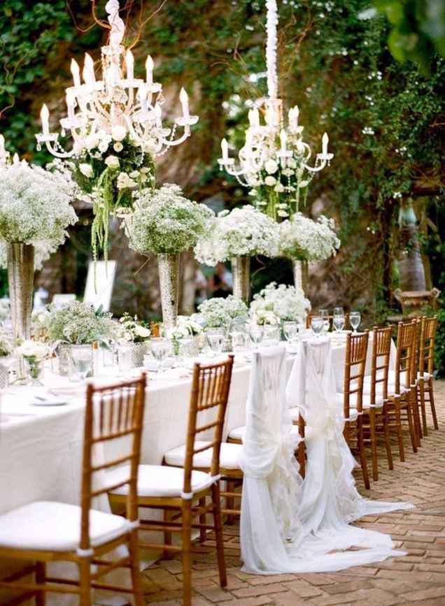 68 Romantic White Flower Centerpiece Decor Ideas