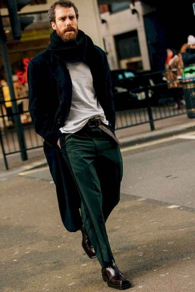 01 Dashing Winter Fashion Outfits Ideas For Men