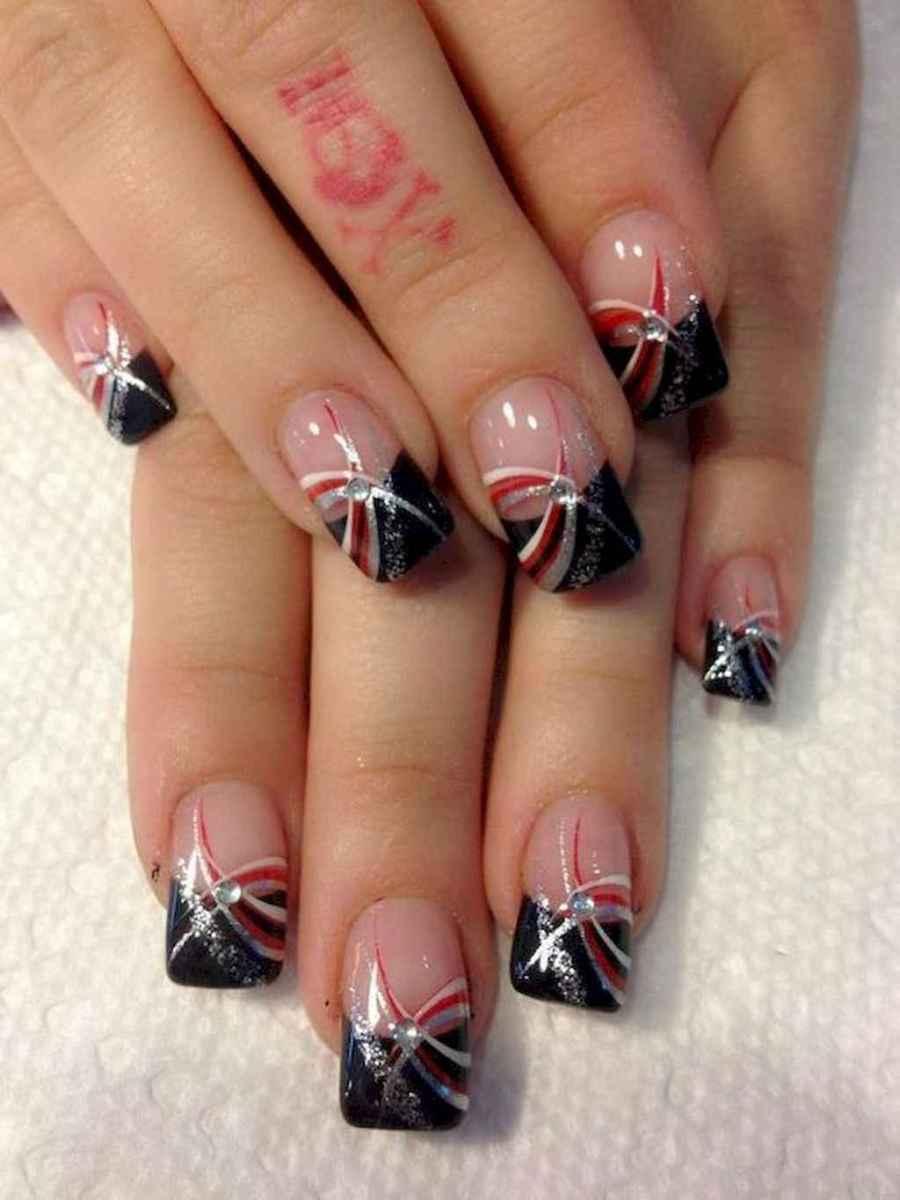 01 Elegant Black Nail Art Designs that You'll Love