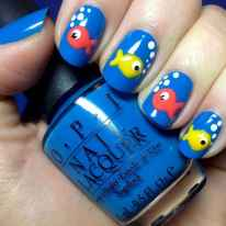 02 Special Summer Beach Nails Designs for Exceptional Look