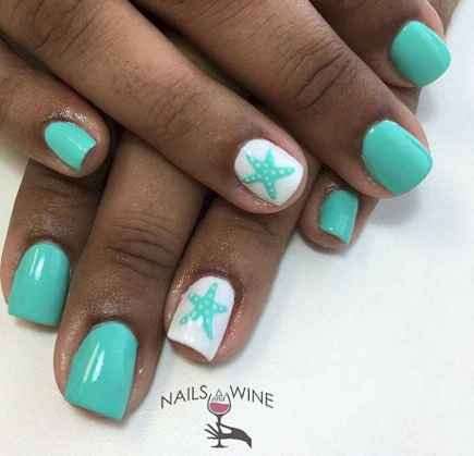 06 Special Summer Beach Nails Designs for Exceptional Look