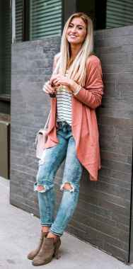 08 Beautiful Fall Outfits Ideas With Cardigan