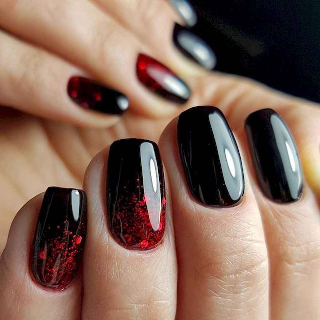10 Elegant Black Nail Art Designs that You'll Love