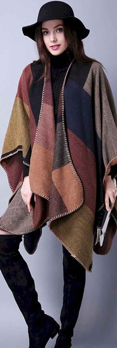 10 Trending Winter Outfits Oversized Poncho Outfit Ideas
