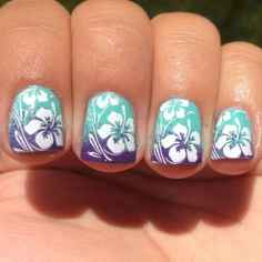 12 Special Summer Beach Nails Designs for Exceptional Look