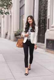 15 Elegant Work Outfits with Flats Every Woman Should Own