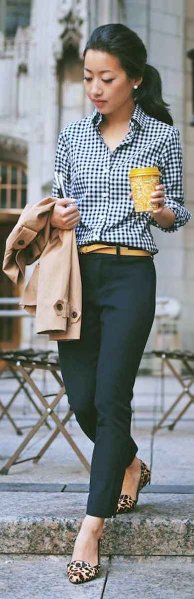 16 Elegant Work Outfits with Flats Every Woman Should Own