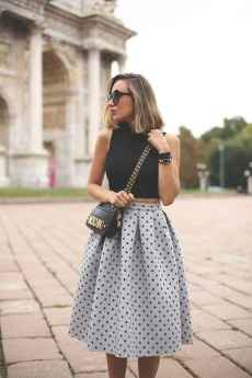 19 Trending and Popular Skirt Outfit Ideas