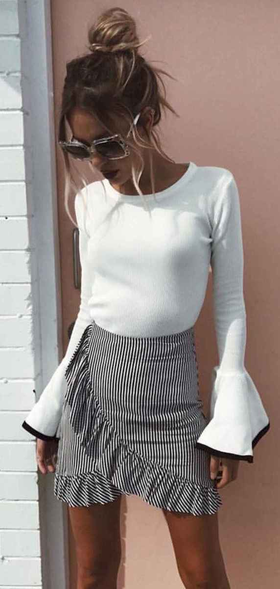23 Trending and Popular Skirt Outfit Ideas