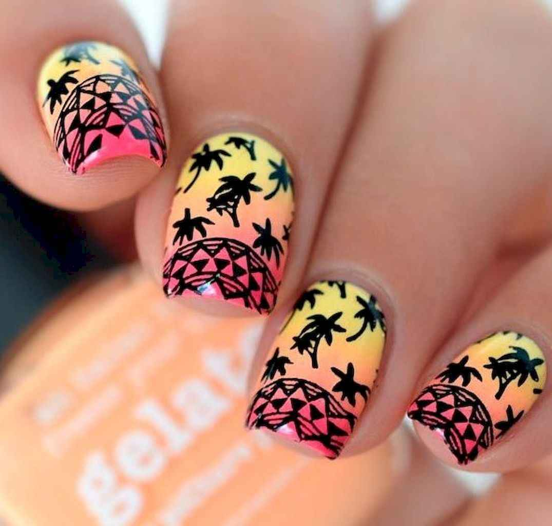 29 Special Summer Beach Nails Designs For Exceptional Look