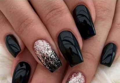 27 Elegant Black Nail Art Designs that You'll Love