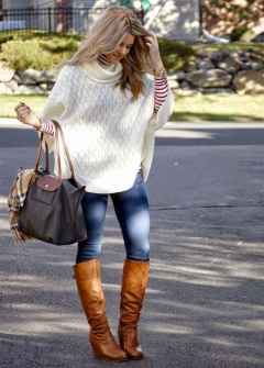29 Trending Winter Outfits Oversized Poncho Outfit Ideas