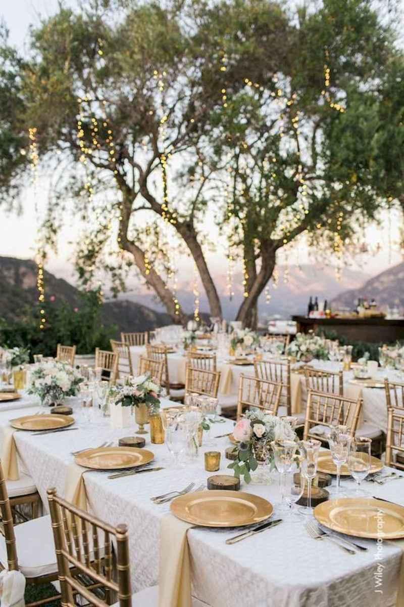 01 Romantic Tropical Wedding Ideas Reception Centerpiece