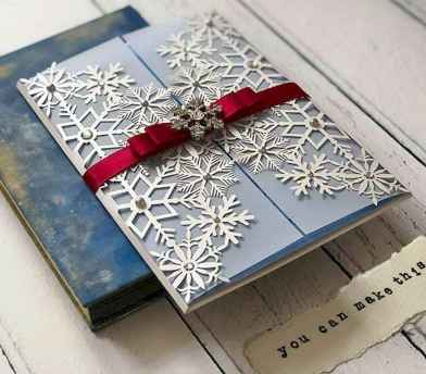 03 Elegant Christmas Wedding Invitations Ideas
