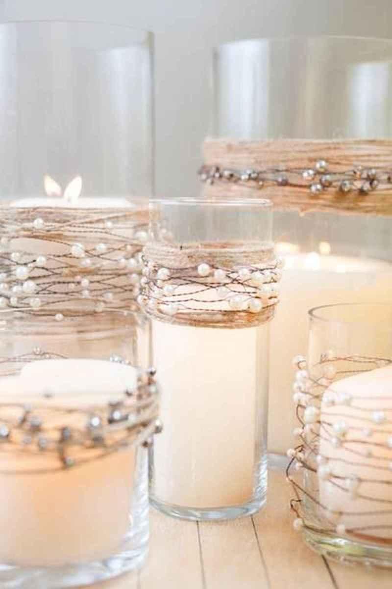 04 Beautiful Simple Winter Wedding Centerpieces Decor Ideas