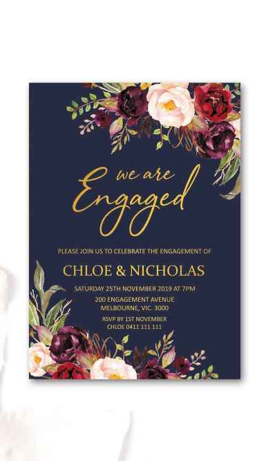 04 Inexpensive Engagement Party Invitations Ideas