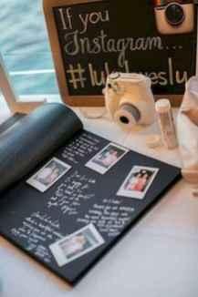 08 Memorable Bridal Shower Photo Book Ideas