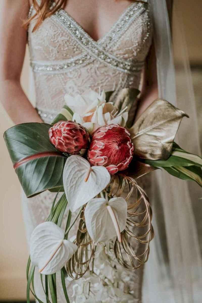 10 Romantic Tropical Wedding Ideas Reception Centerpiece