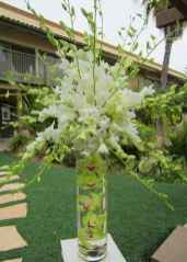 109 Romantic Tropical Wedding Ideas Reception Centerpiece