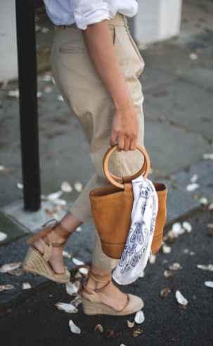 12 Elegant Beige Linen Pants Outfit Ideas