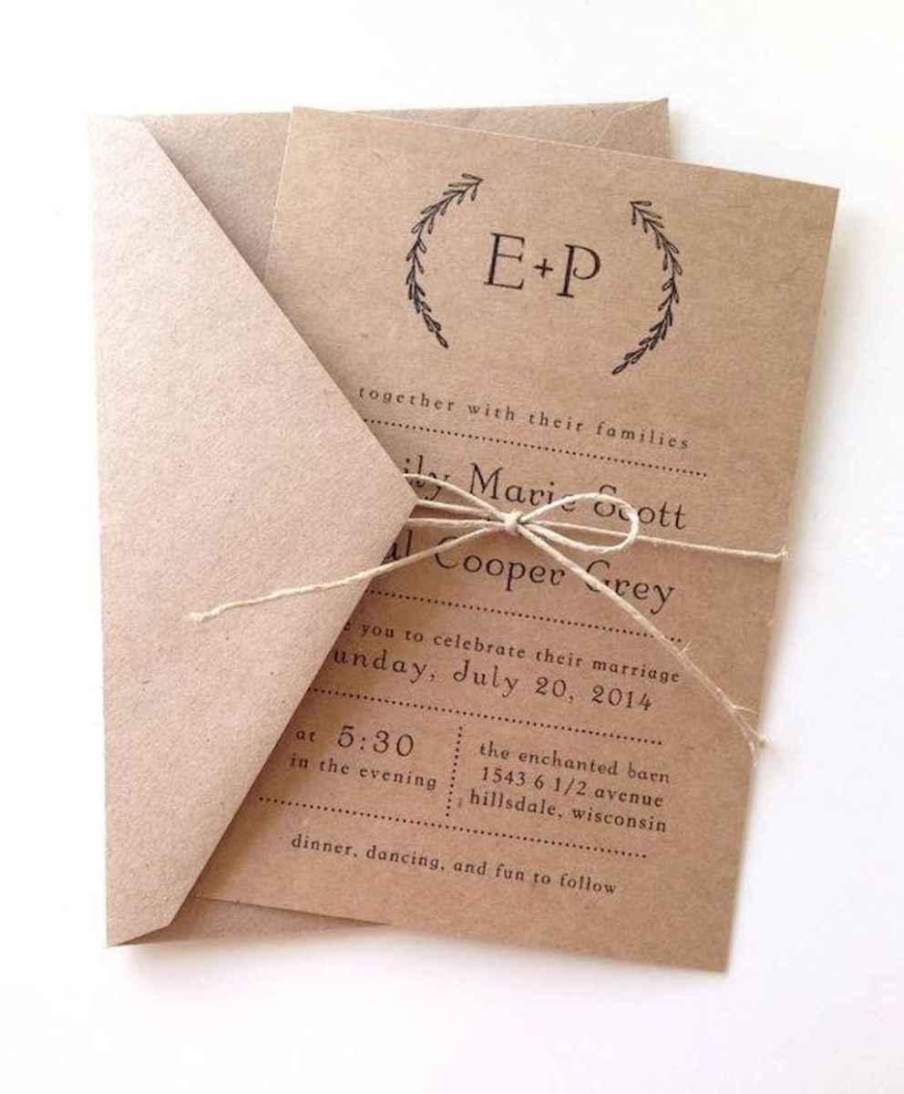 12 Simple Inexpensive Wedding Invitations Ideas