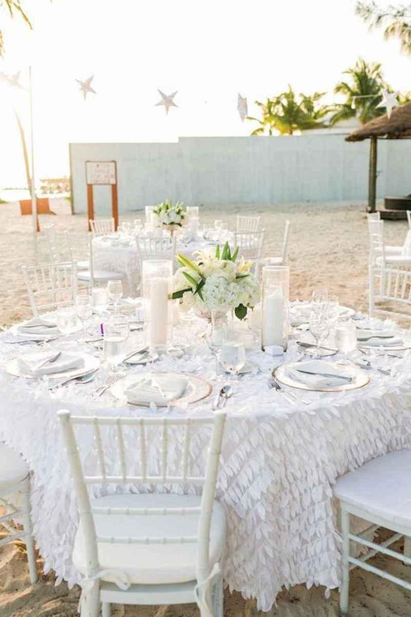 19 Romantic Tropical Wedding Ideas Reception Centerpiece