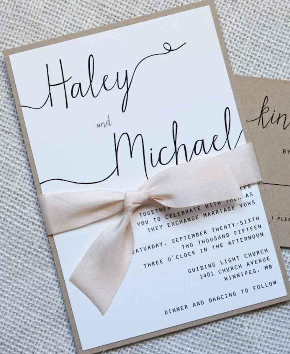 19 Simple Inexpensive Wedding Invitations Ideas