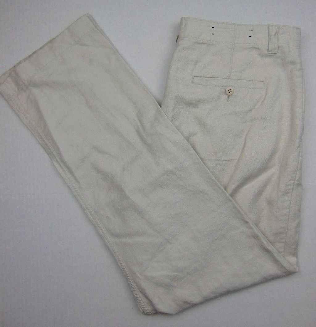 20 Elegant Beige Linen Pants Outfit Ideas