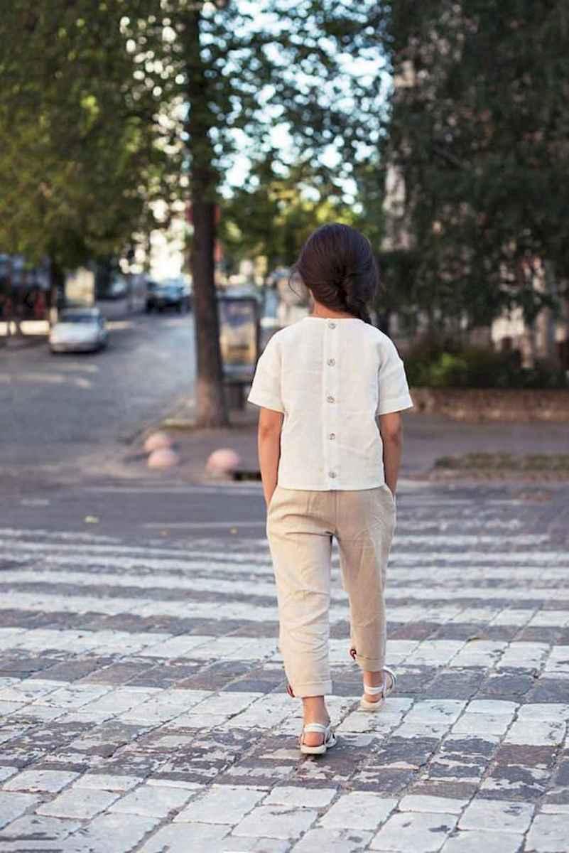 21 Elegant Beige Linen Pants Outfit Ideas
