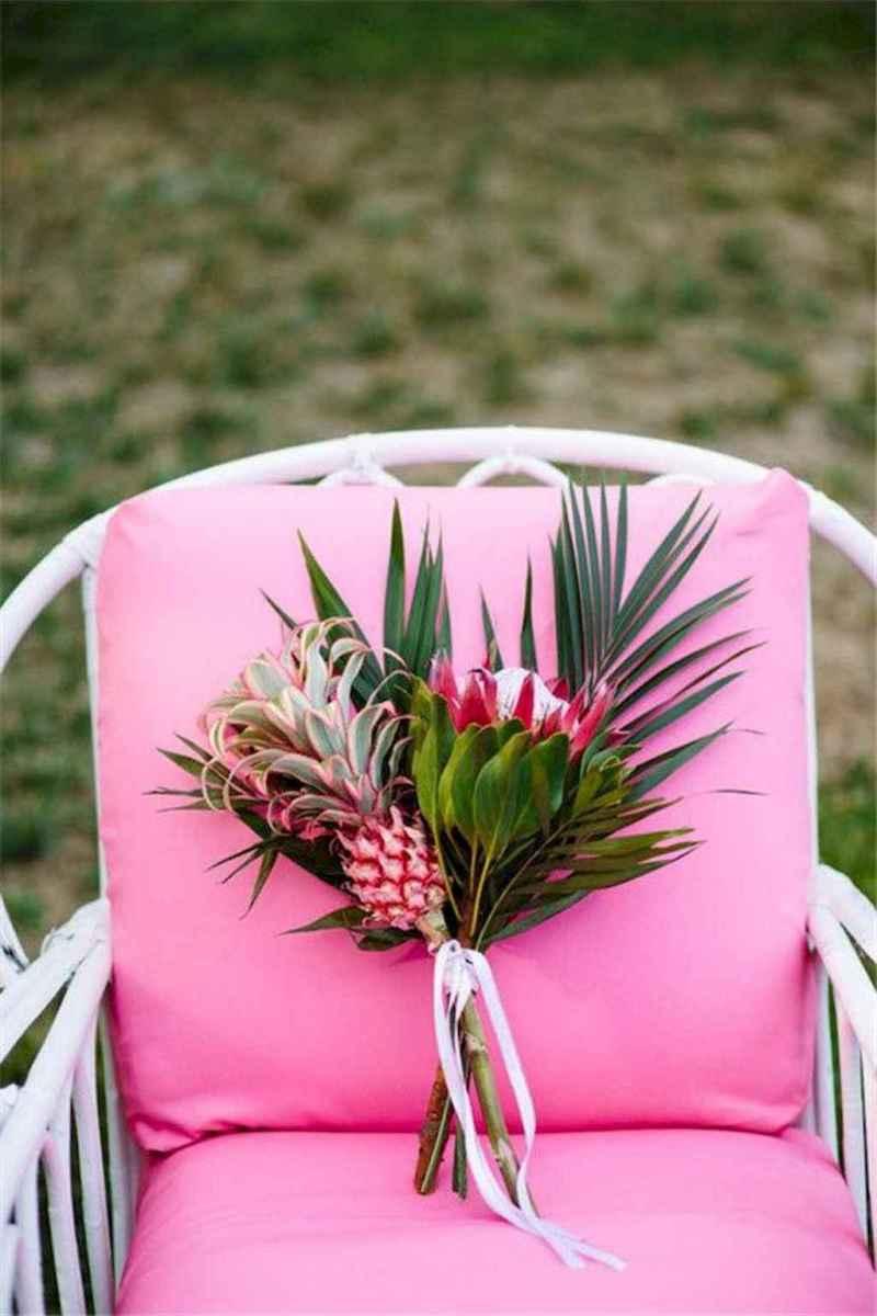 21 Romantic Tropical Wedding Ideas Reception Centerpiece