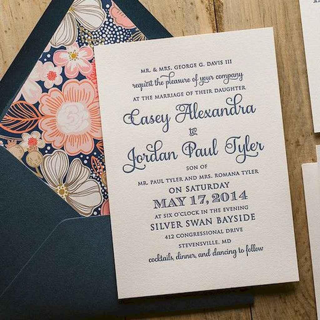 26 Simple Inexpensive Wedding Invitations Ideas