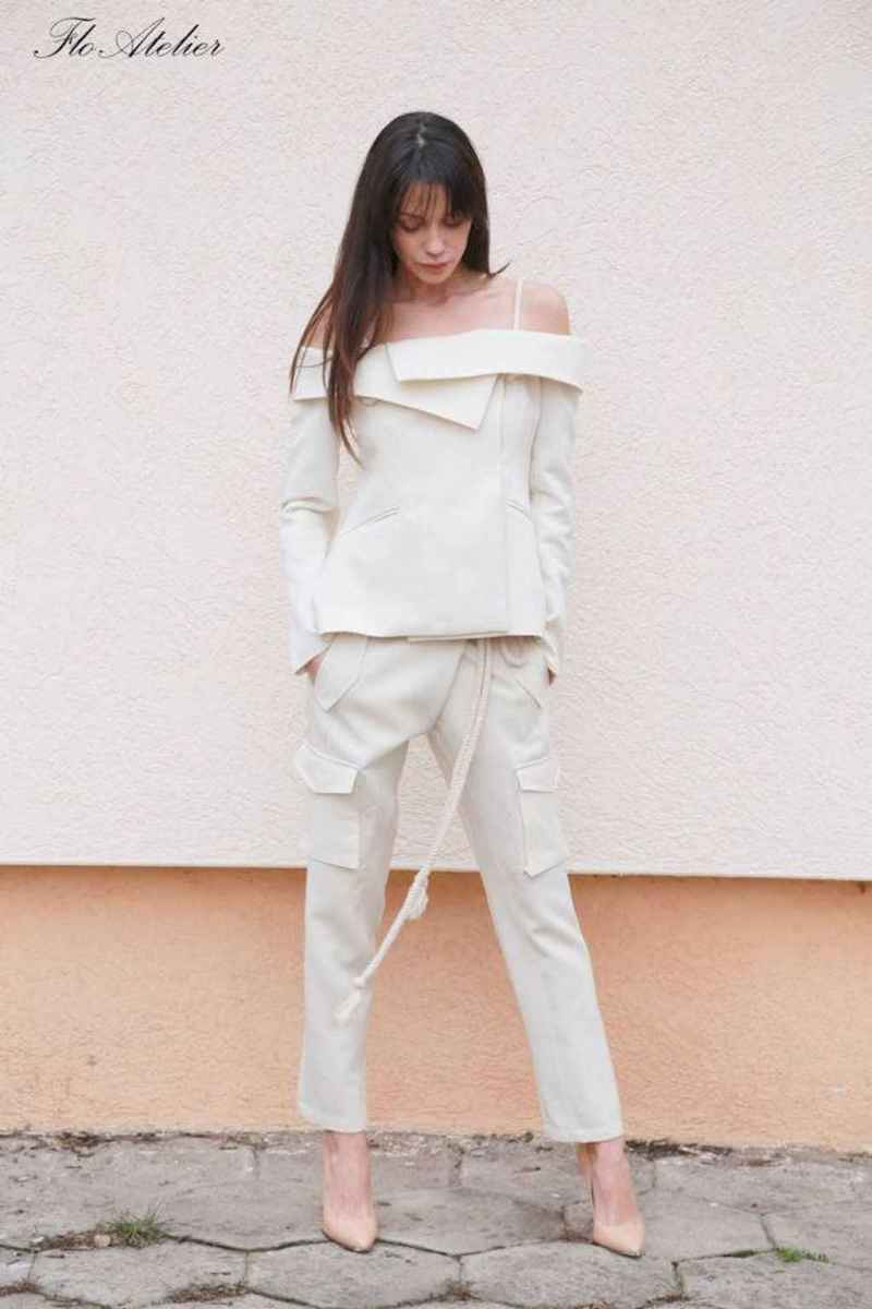 27 Summer White Linen Pants Outfit for Women