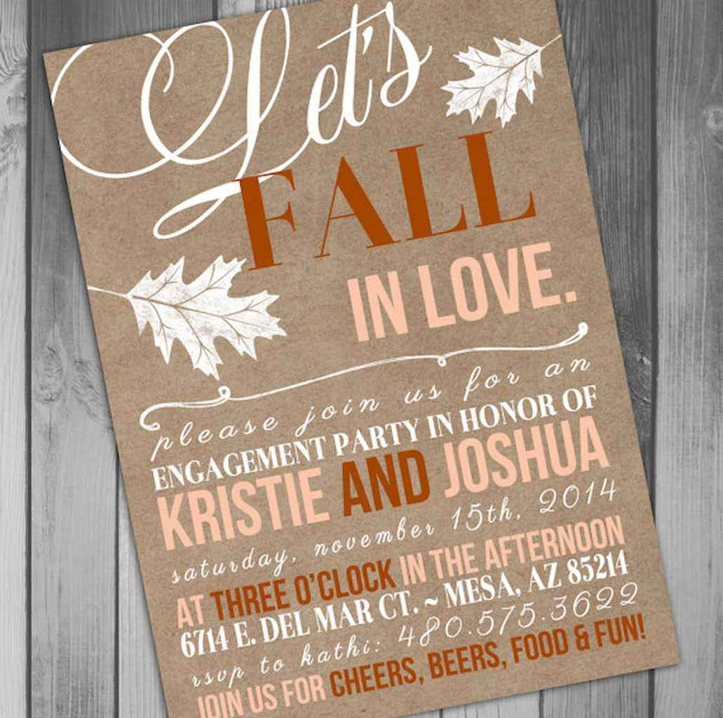 29 Inexpensive Engagement Party Invitations Ideas