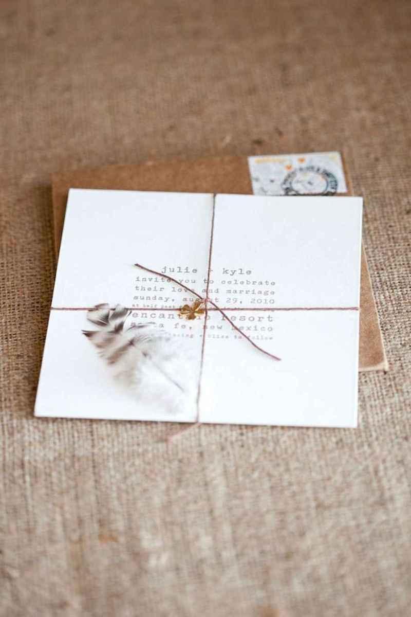 29 Simple Inexpensive Wedding Invitations Ideas