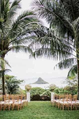 32 Romantic Tropical Wedding Ideas Reception Centerpiece