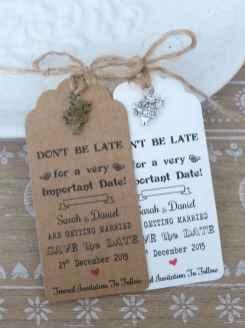 33 Elegant Christmas Wedding Invitations Ideas