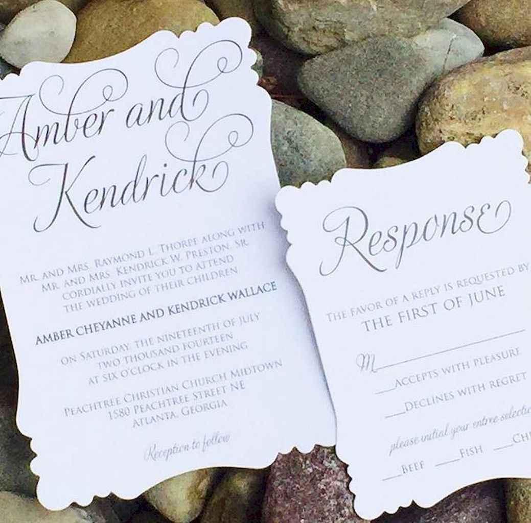 34 Simple Inexpensive Wedding Invitations Ideas