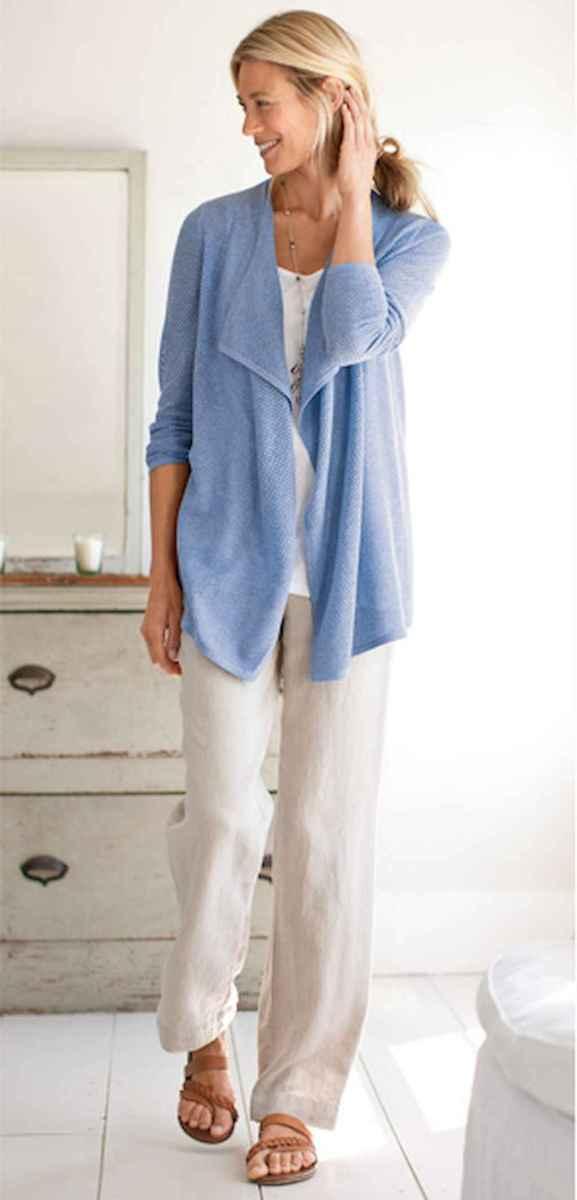 35 Elegant Beige Linen Pants Outfit Ideas