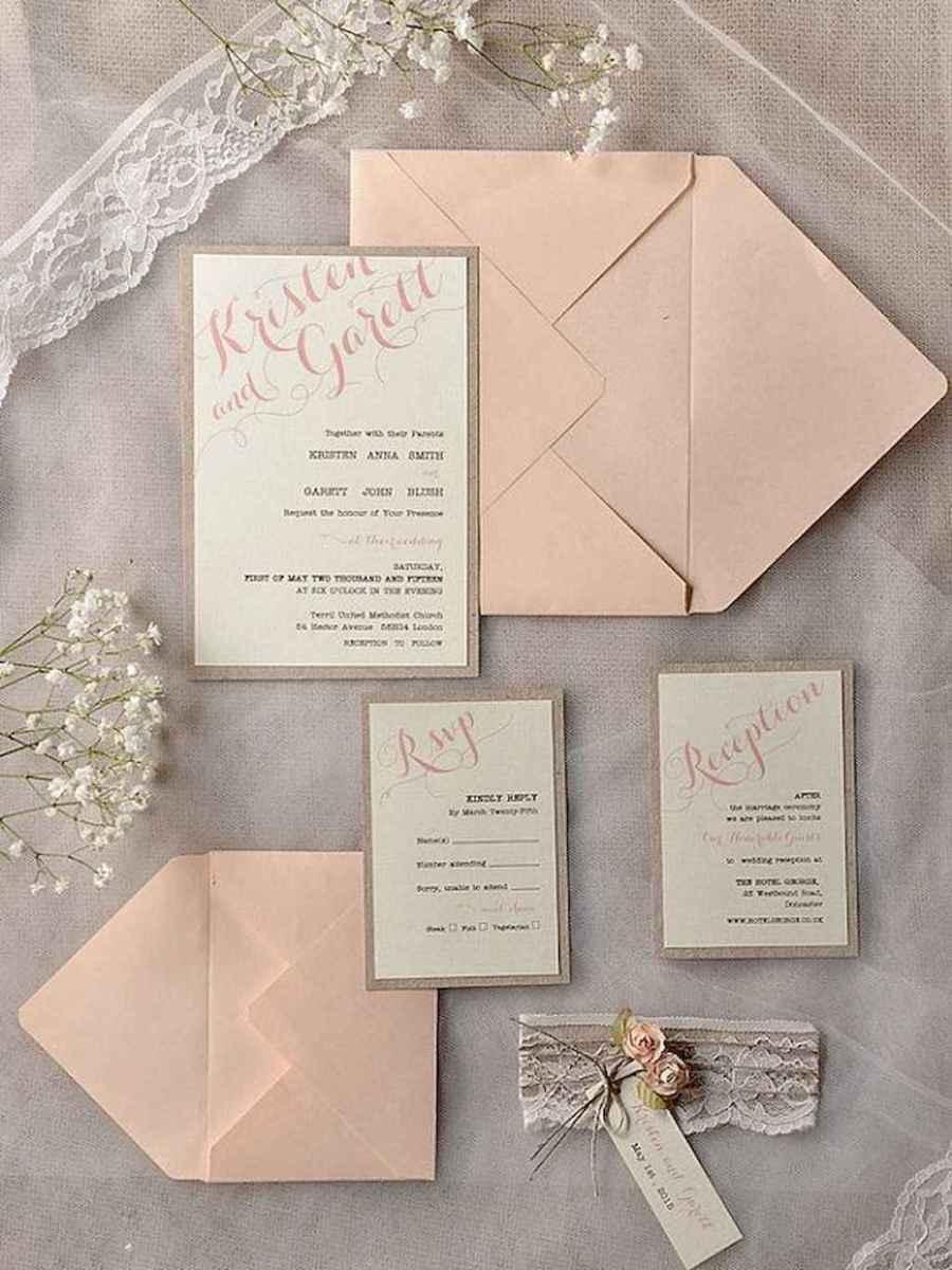 46 Simple Inexpensive Wedding Invitations Ideas