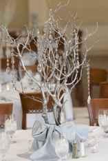 47 Beautiful Simple Winter Wedding Centerpieces Decor Ideas