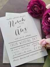 49 Simple Inexpensive Wedding Invitations Ideas