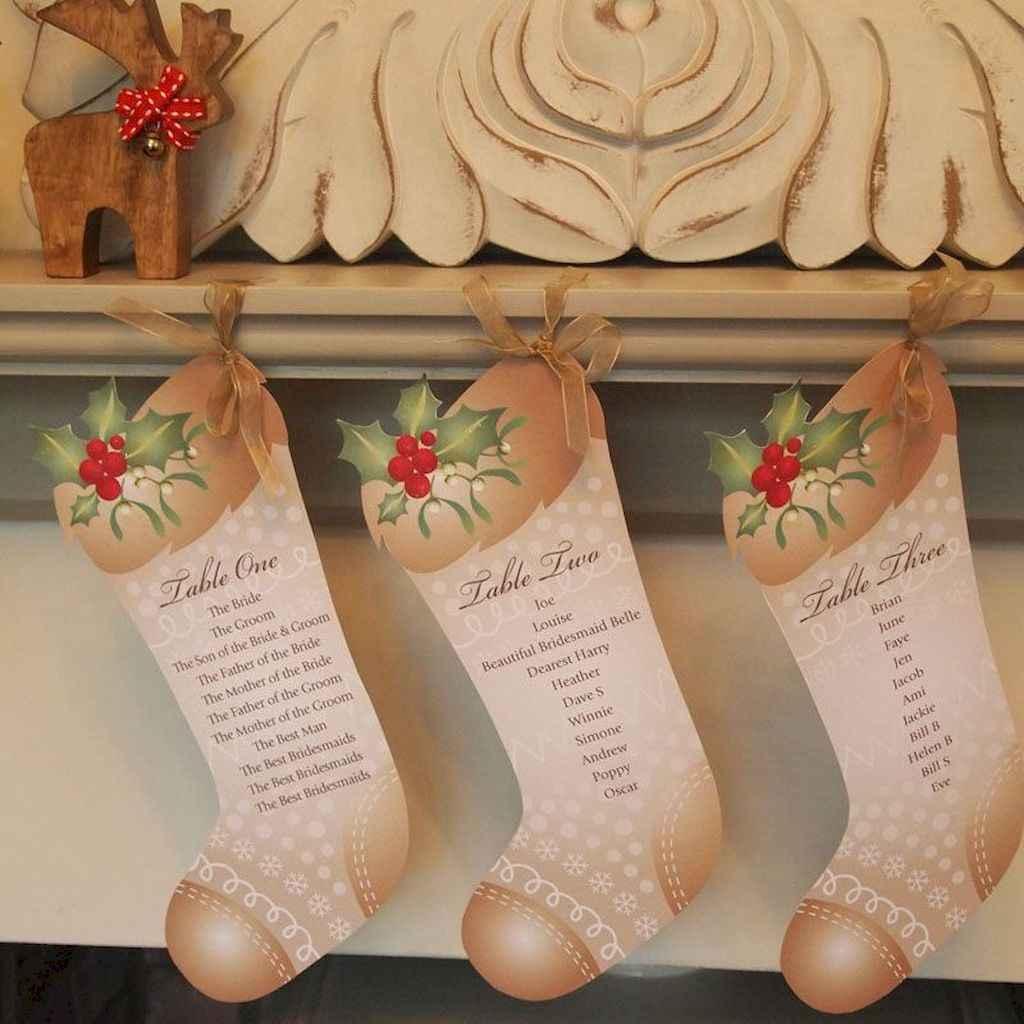 50 Elegant Christmas Wedding Invitations Ideas