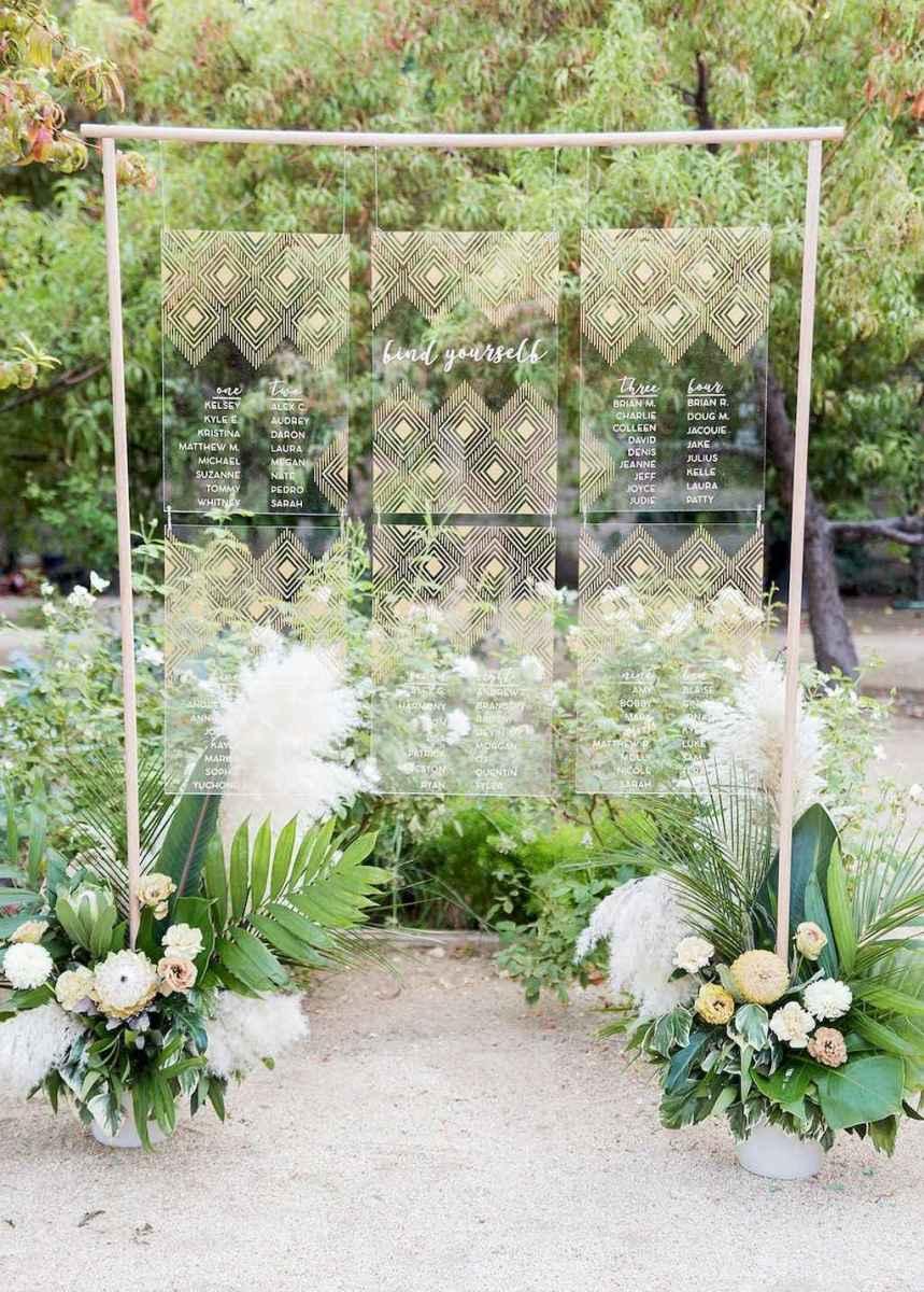 51 Romantic Tropical Wedding Ideas Reception Centerpiece