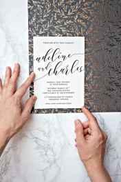 67 Elegant Christmas Wedding Invitations Ideas