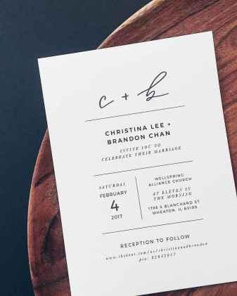67 Simple Inexpensive Wedding Invitations Ideas
