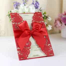 69 Elegant Christmas Wedding Invitations Ideas